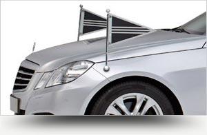 Collectie zilvergrijs rouwvervoer - Straver Mobility Uitvaartvervoer. Rouwauto. Volgauto. Mercedes. Cadillac.