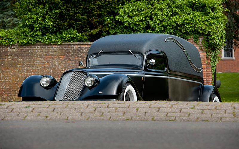 Ford Hotrod Rouwauto
