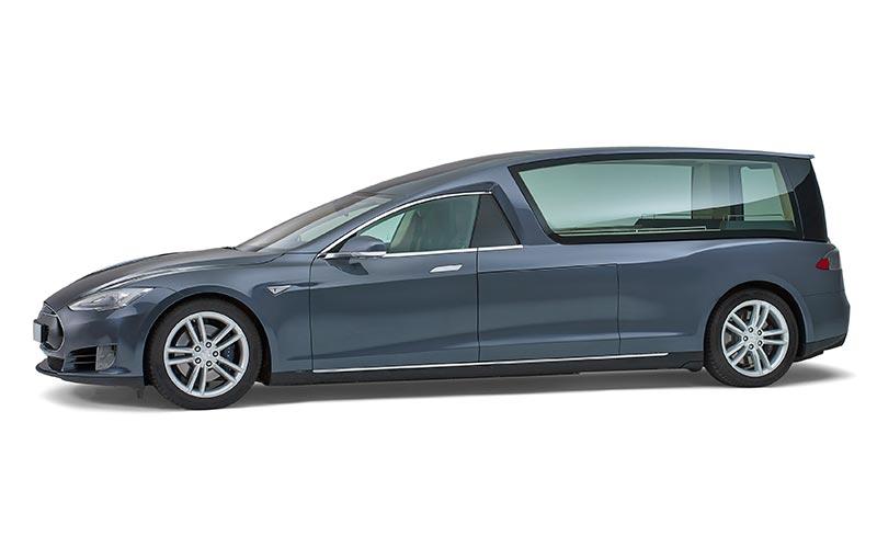 Tesla elektrische Rouwauto