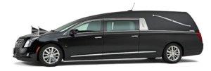Zwarte Cadillac Rouwauto – Landaulet uitvoering - Straver Mobility Uitvaartvervoer