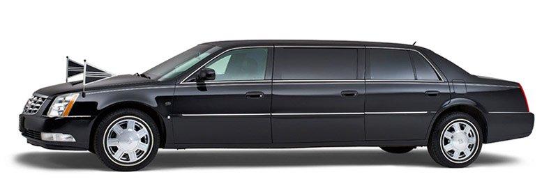 Zwarte Cadillac Volgauto – 7 personen - Straver Mobility Uitvaartvervoer